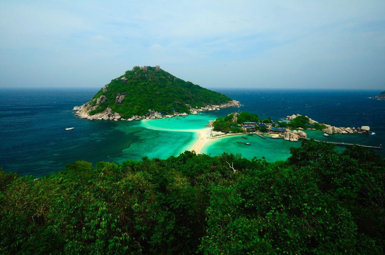 Beach Beauty In Nature Day Koh Tao Koh Tao, Thailand Koh Tao,Tao Island,Southern Thailand Nang Yuan Island Nature Outdoors Scenics Sea Sky Tranquil Scene Water