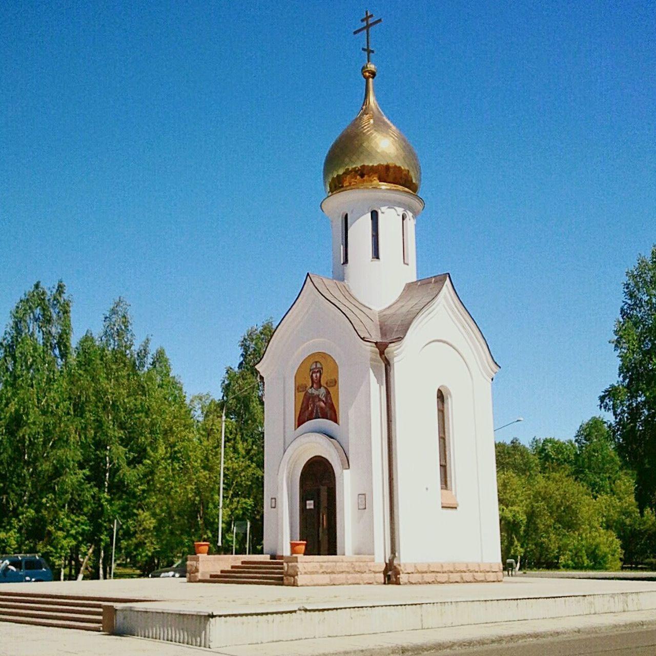 Mejdurechensk Russia Summer Hram Road
