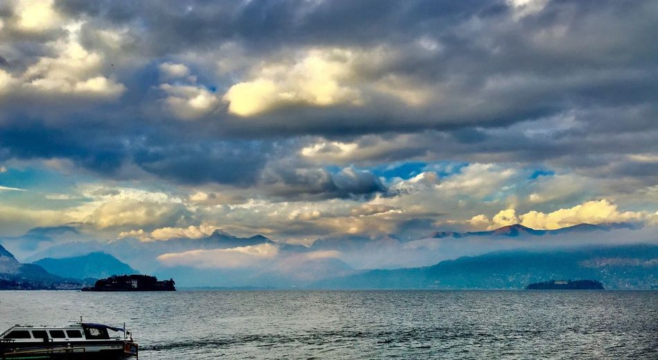 Cloud - Sky Sky Water Nautical Vessel Storm Cloud Horizon Over Water Shades Of Winter