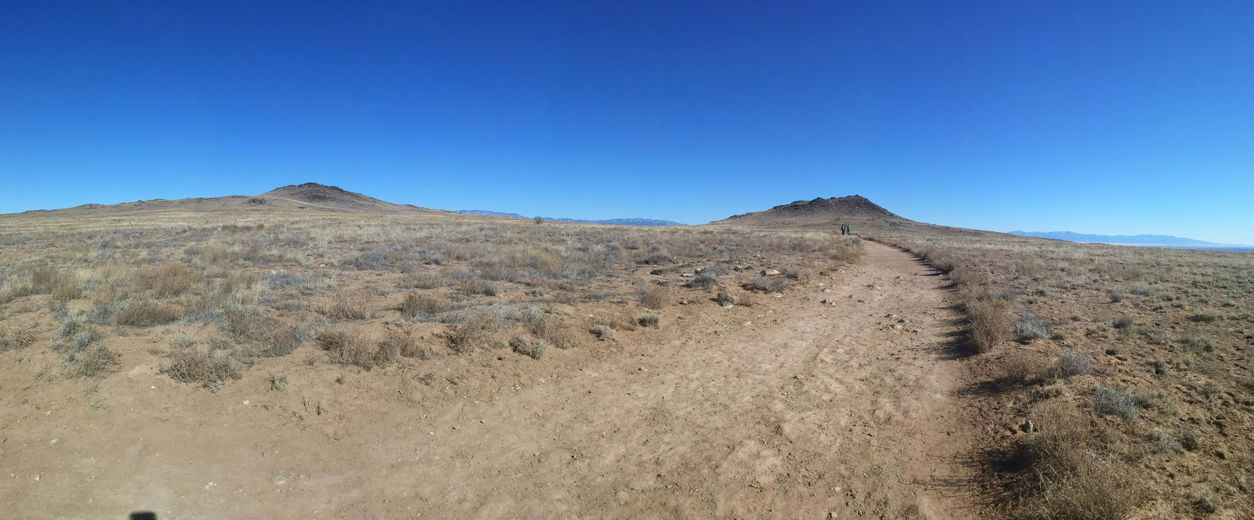 Volcanos on the Mesa. God has blessed us with an amazing Feb day! On A Hike Walking Nature PraiseGod