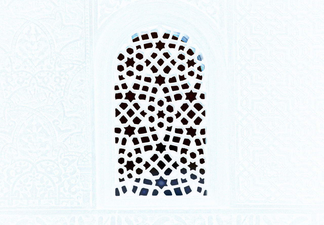 Arabic Architectural Detail Architecture Architecture Architecture_collection Backgrounds Building Exterior Built Structure Close-up Day Full Frame Gate Hole Indoors  No People Ornaments Pattern White Album White Background White Color White Gate Window Window Frame Winter Winter Wonderland BYOPaper!