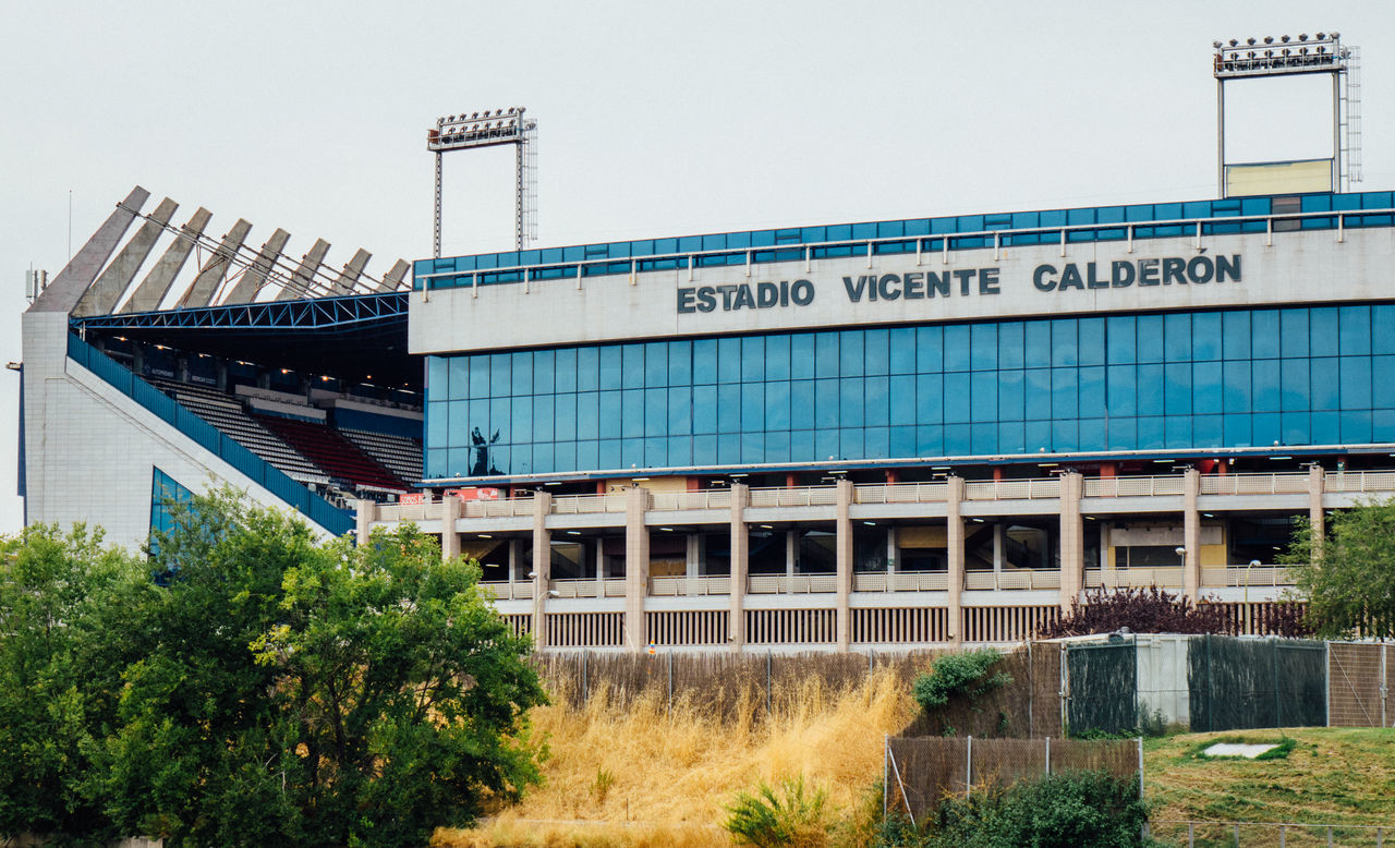 Madrid Madrid Spain SPAIN Stadium Vicente Calderon
