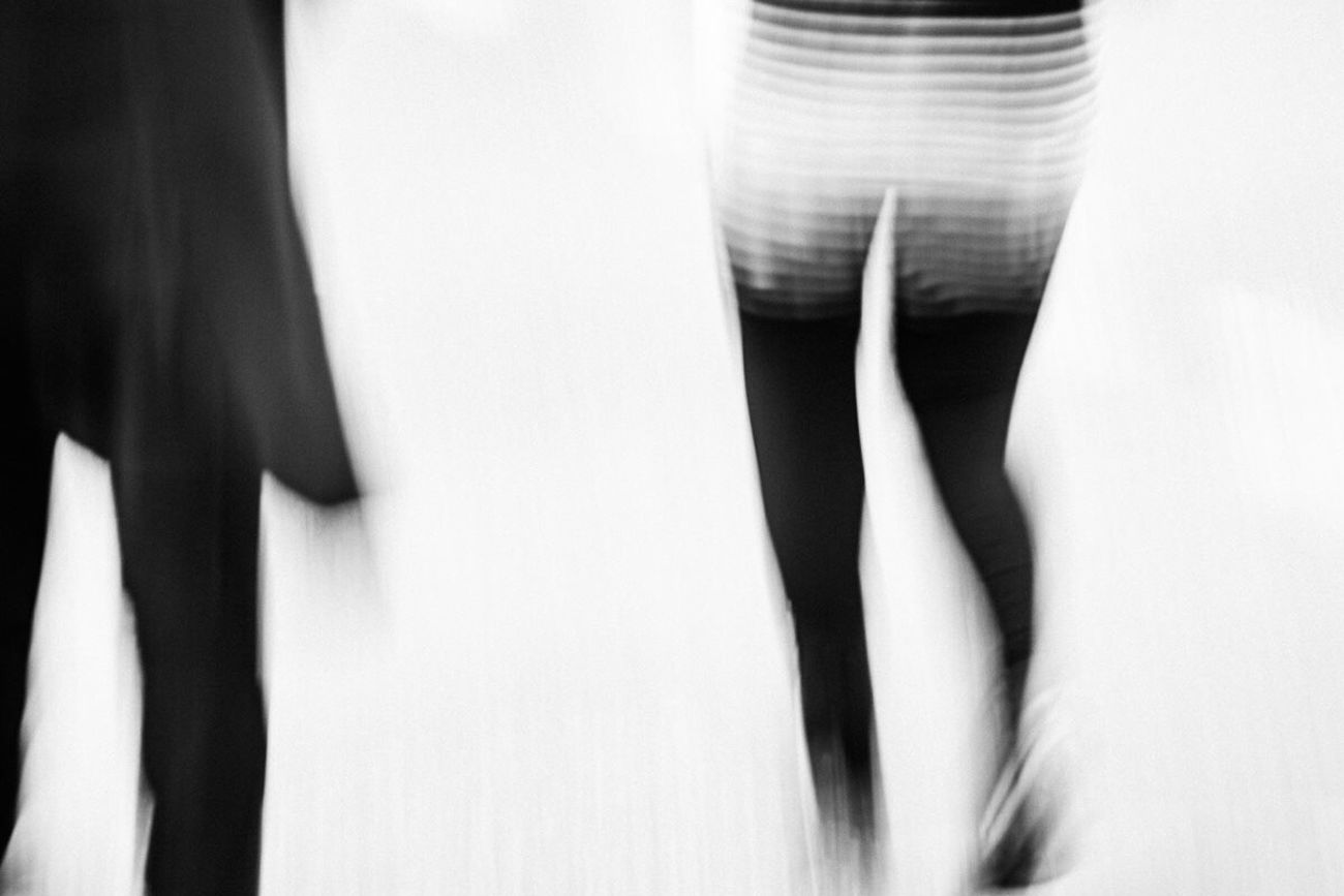 People Abstract Fine Art Photograhy Woman motion Vibration