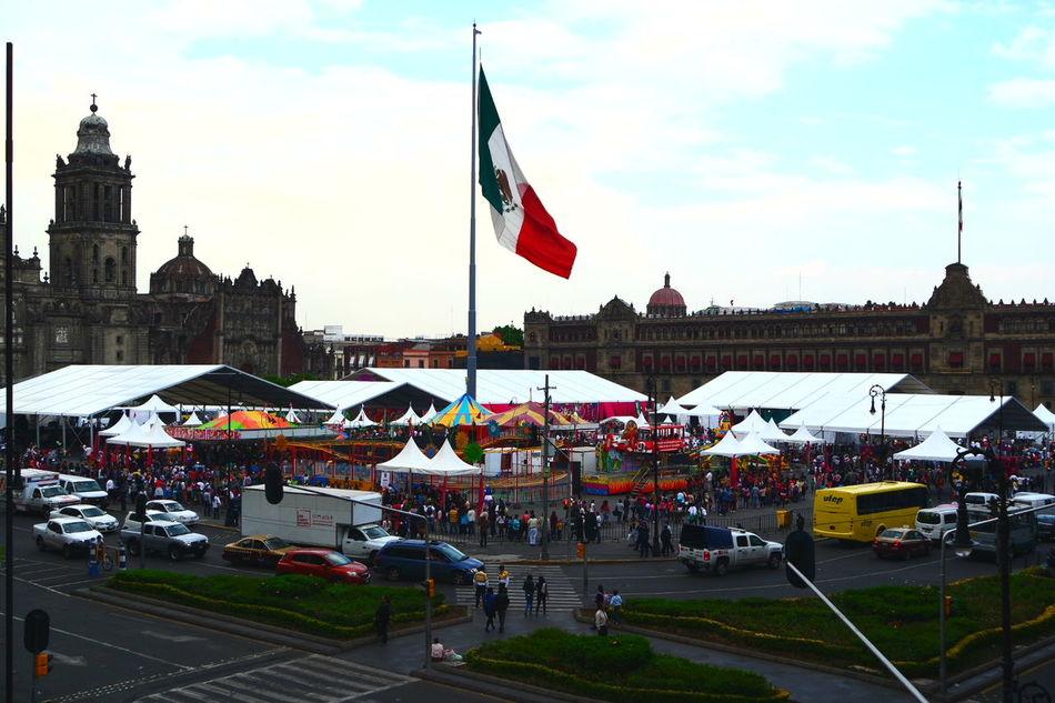 Zócalo D.F Zocalodf MéxicoD.F. Mexico City Ciudad De México Colorful Colors Feria