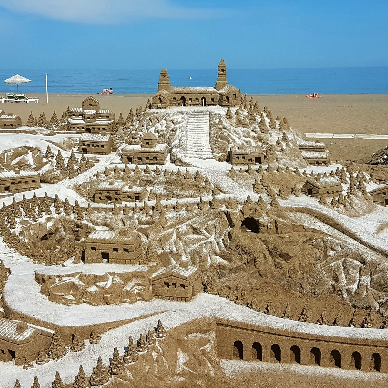 history, travel destinations, outdoors, nature, sand, day, sky, scenics, tourism, architecture, ancient, built structure, sea, ancient civilization, landscape, no people, horizon over water, beach, beauty in nature