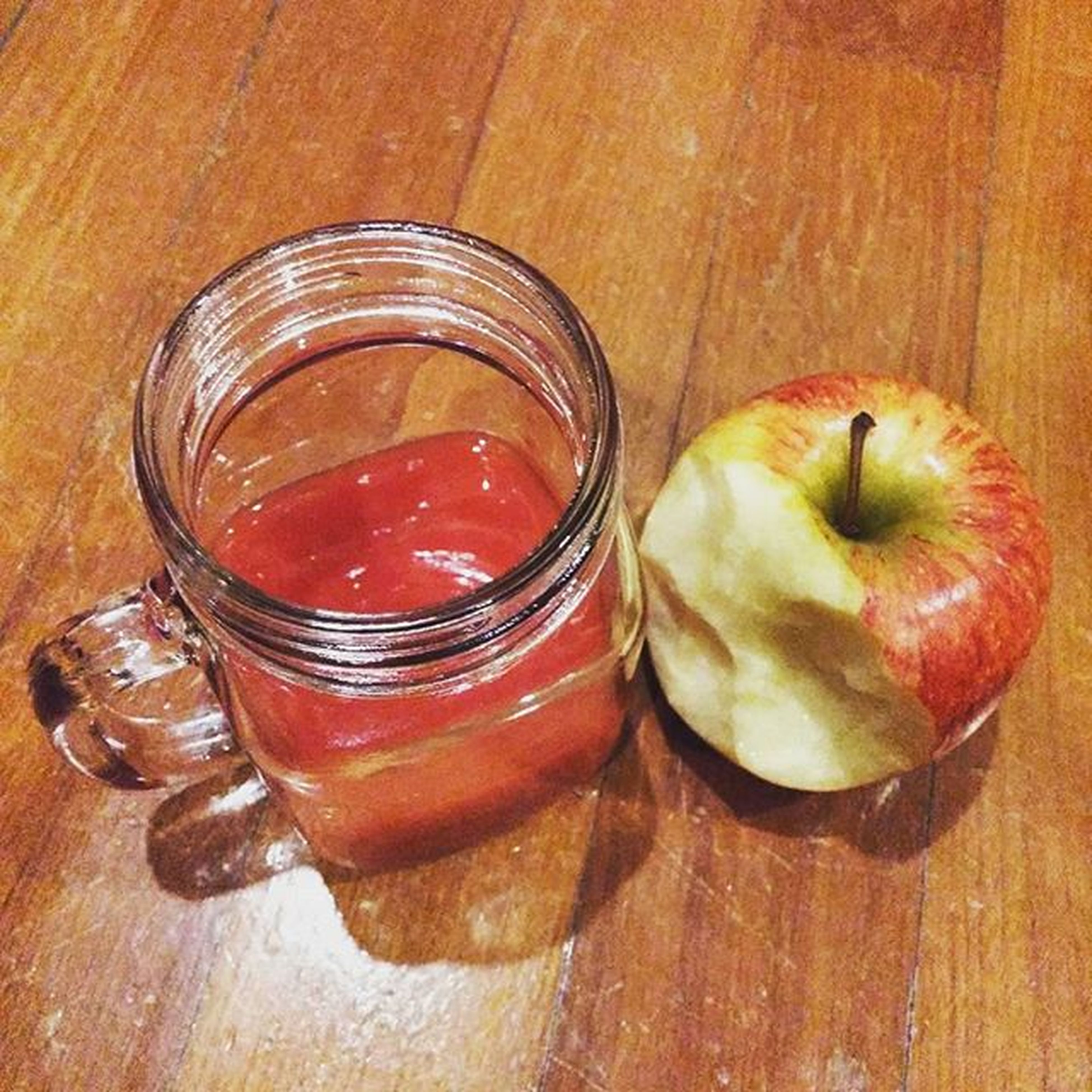 Won't regret 🍹🍎 Tomatojuice Applesweetfriend