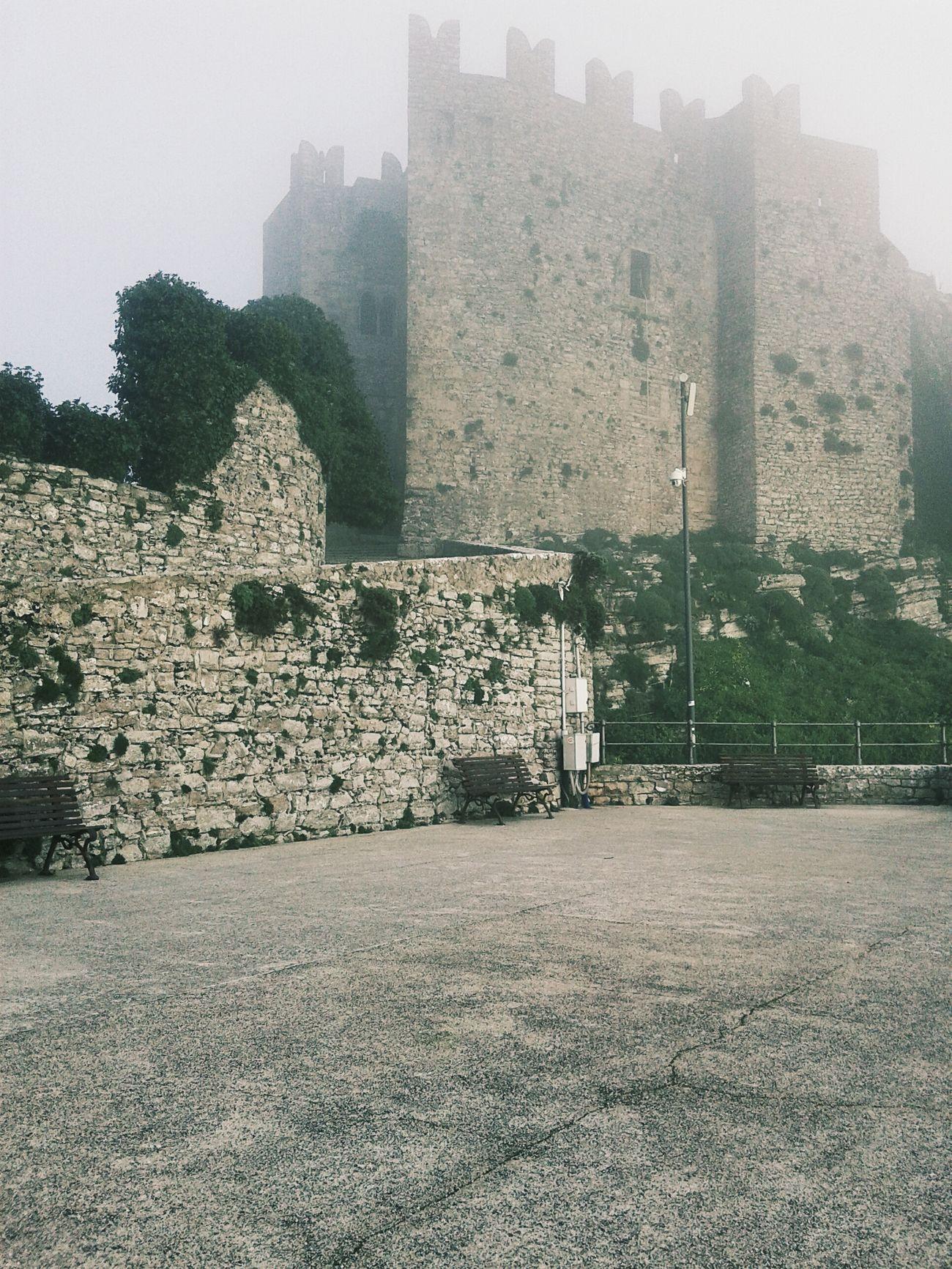 Erice Castello Di Venere Sicily Taking Photos