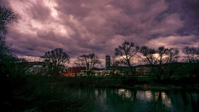 Showcase: February Clouds And Sky HDR Jena Sony A6000 Thuringen