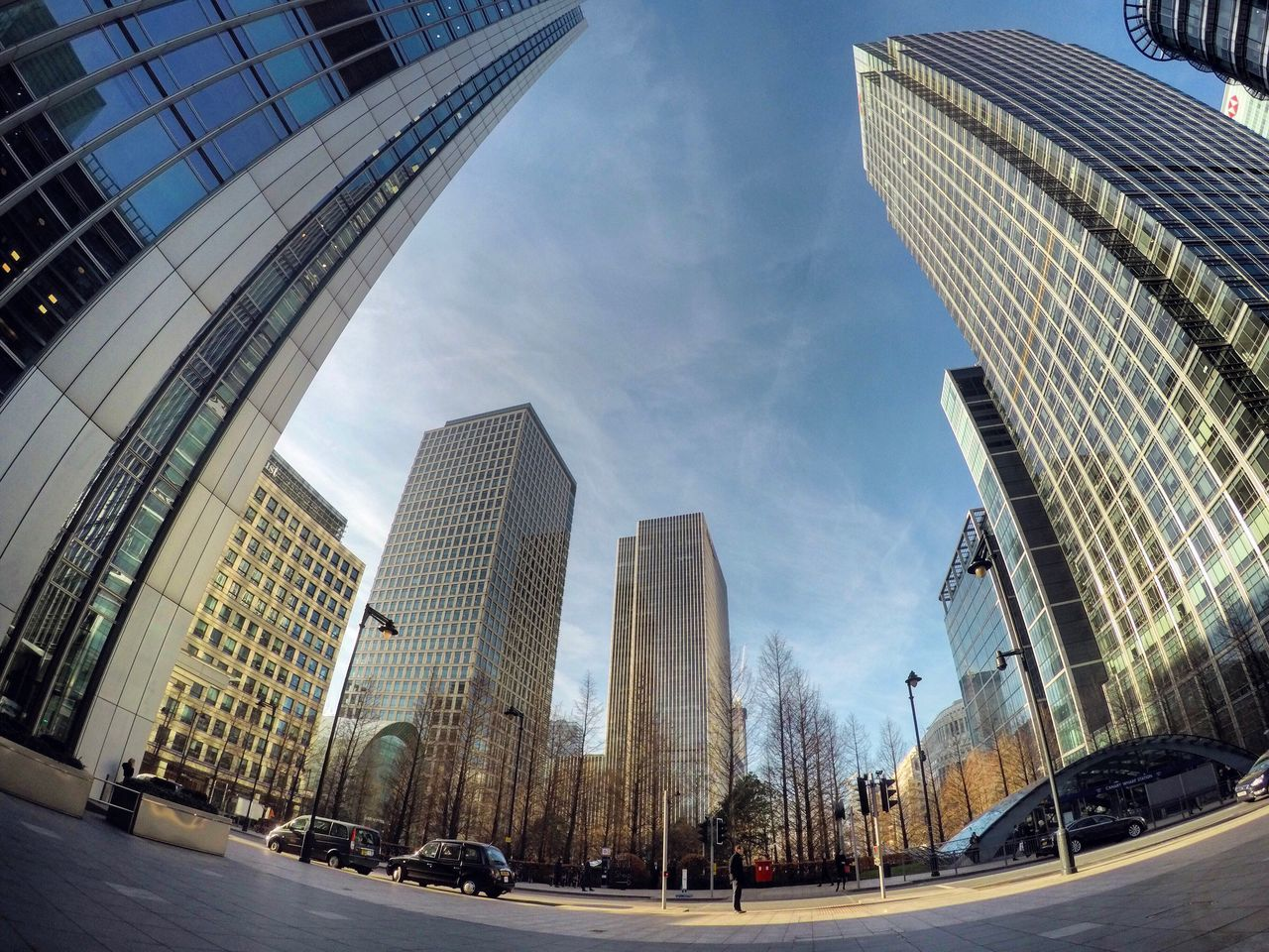 Architecture Building Exterior Built Structure Modern Skyscraper City Tower Sky City Financial District  Outdoors Office Building Exterior Day Downtown District Large Group Of People People England Uk Photography EyeEmNewHere Streetphotography Architecture (null) London Gopro The Architect - 2017 EyeEm Awards The Street Photographer - 2017 EyeEm Awards