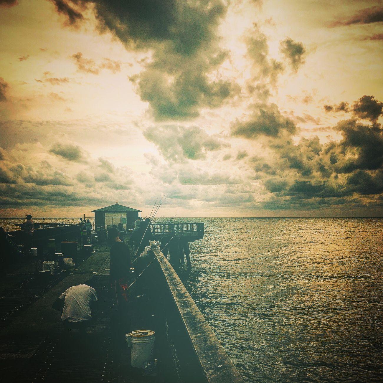Enjoying The Sights Sunrise Fishing