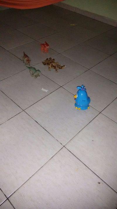 Brinquedos do meu principe do jeito que ele gosta de organizar... 😍