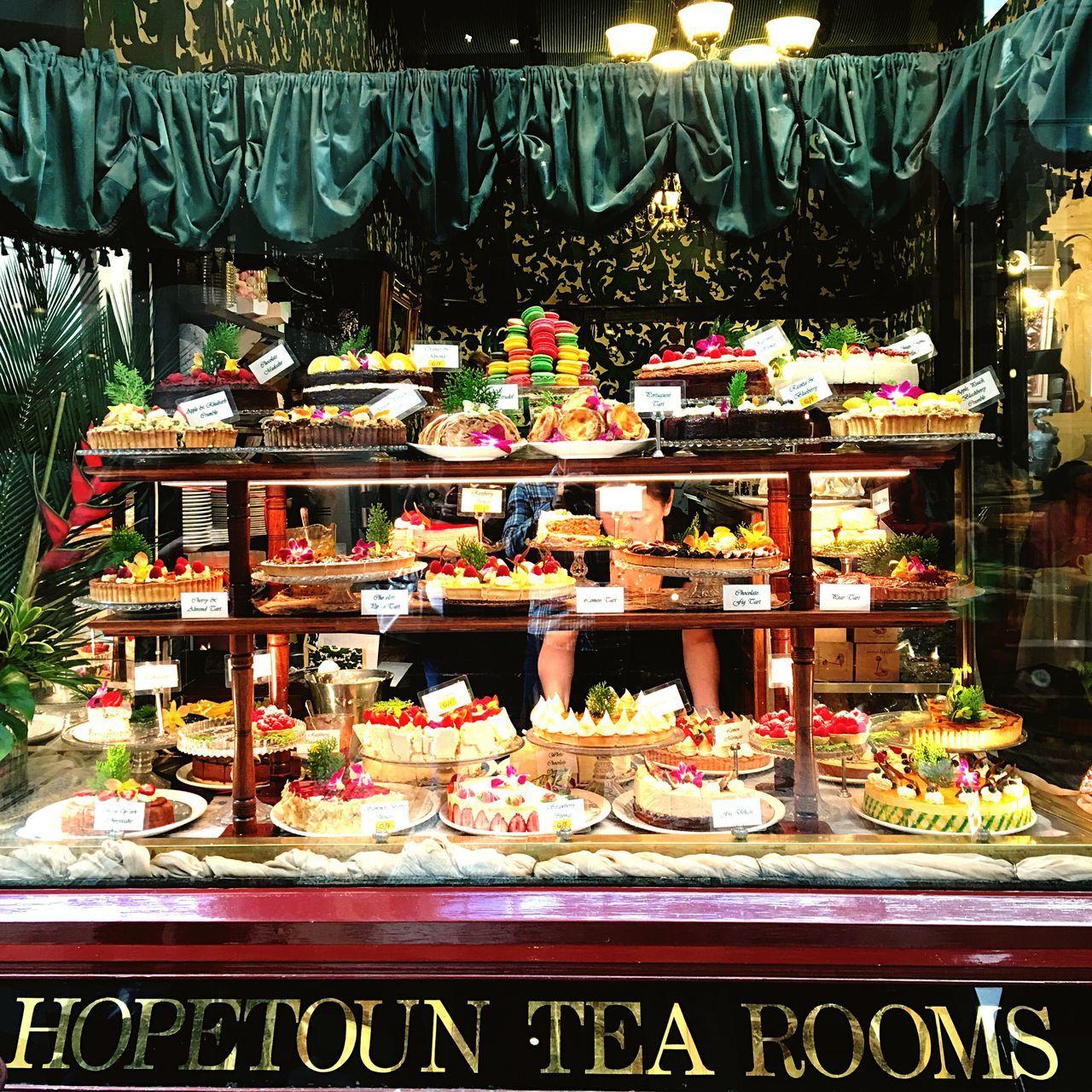 Hopetoun Tea Room High Tea Cakes