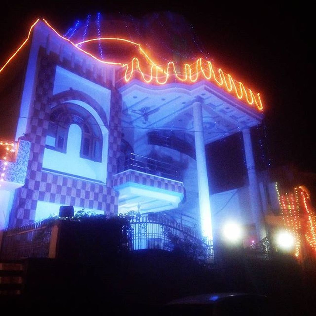 My House ThakursVilla Old_pic Diwali_Pic Lucknowdiaries (: