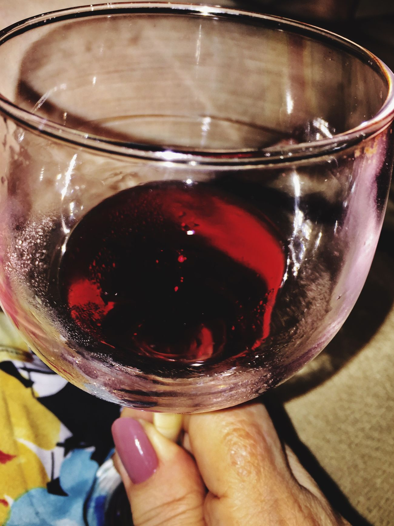 Wine Moments For My Friends That Connect Human Hand Drink Red Wine Close-up Pinot Noir