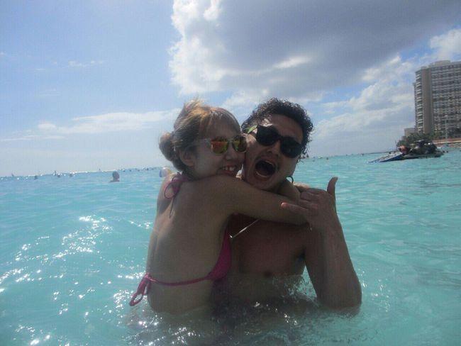 Hawaii Waikiki Beach Enjoying Life Happy Time
