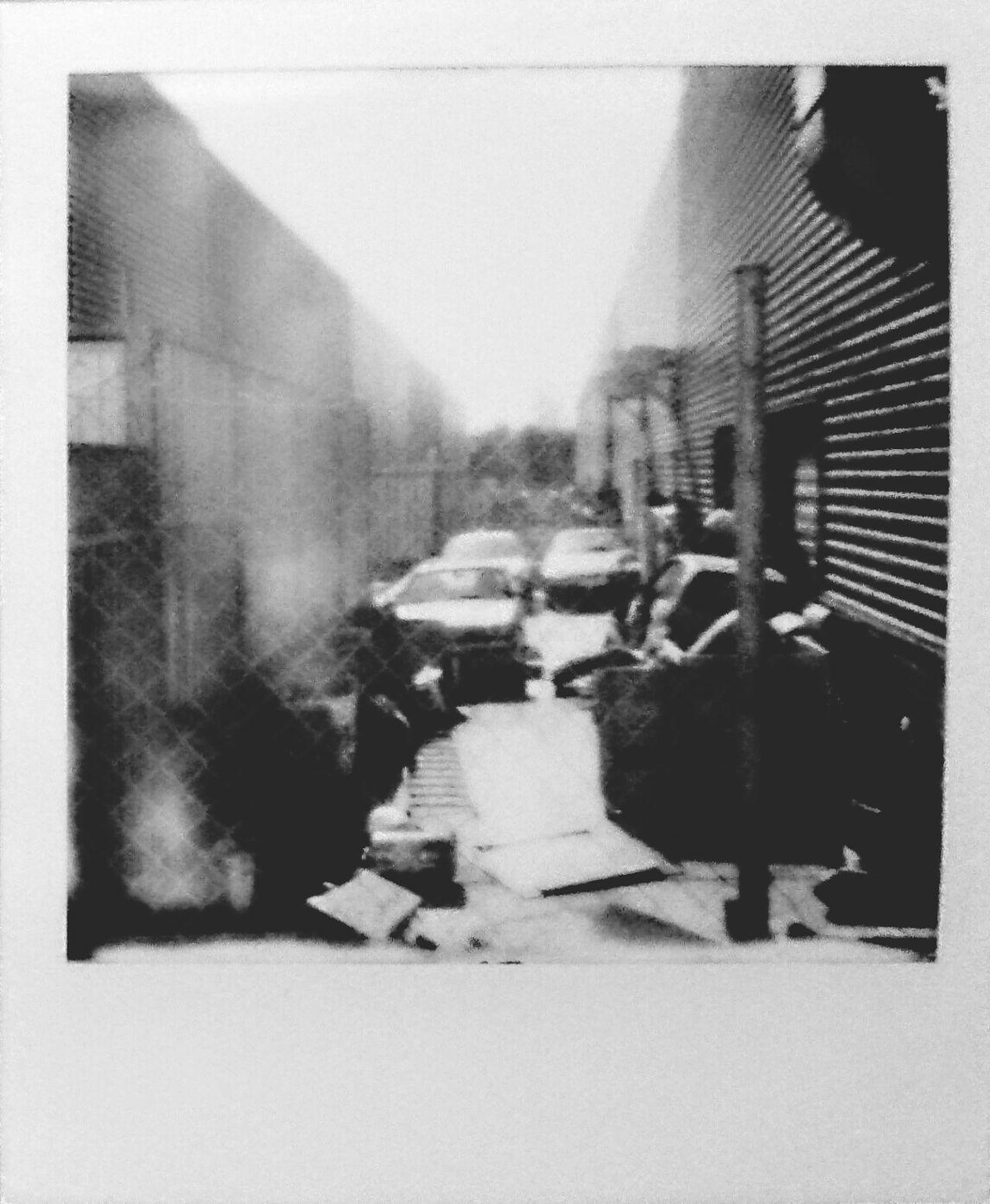 instant photo Blackandwhite Polaroid Photography Streetphotography Realpolaroid Outdoors No People MyArt