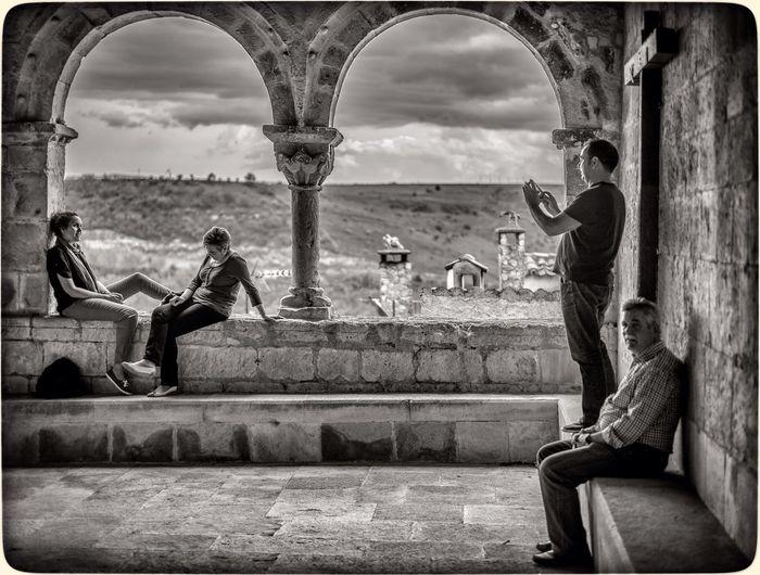 Black And White Street Photography Instagram Photographer at Sepúlveda, Segovia, Spain