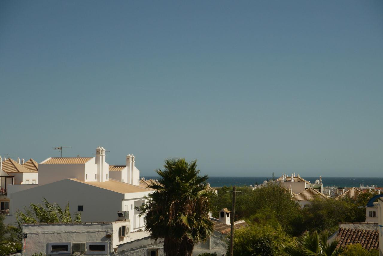 Houses Against Sky In Algarve