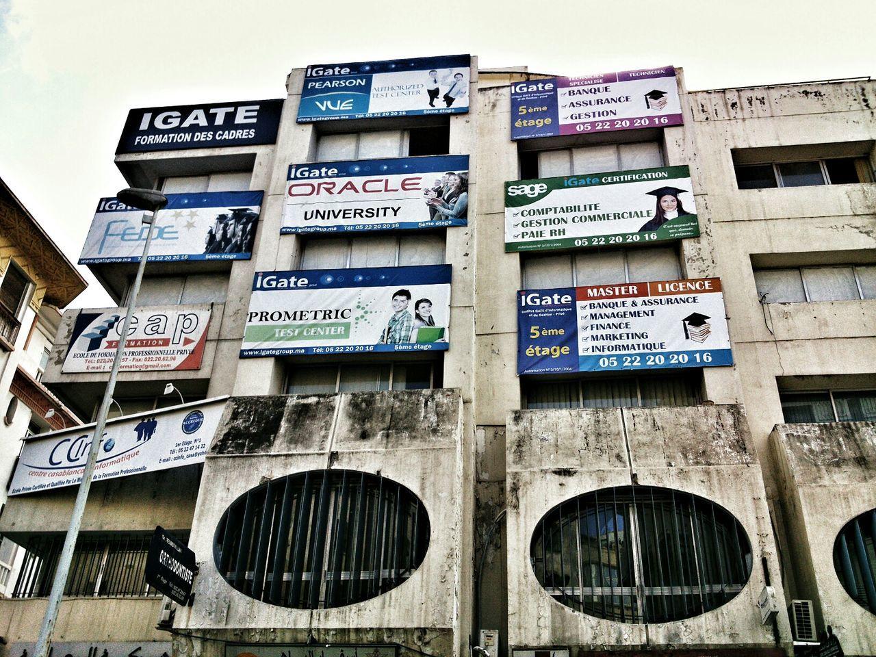 Casablanca - Maroc Streephotography Urban Exploration Contrast Acid