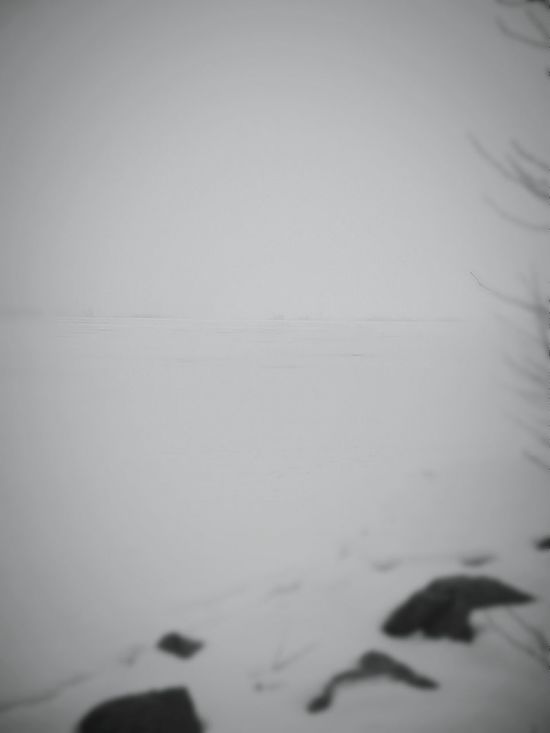 No Horizon All Grey Minimalism Ugly Weather Grey Day Seabay Winter Sea Snowy Scene Perspective Outdoor Photography Depth Of Field Sea And Sky Selective Focus Finland Finnish Landscape