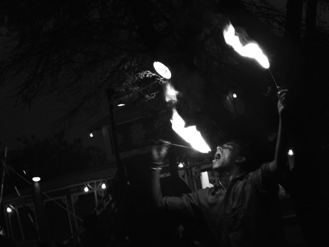 Firebreather  Fire Passion Udaipur Grey . It takes a lot of guts to swallow fire and a hell more to spit it out again! Respect Salute Black & White