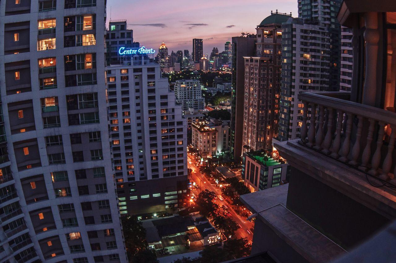 Bangkok Bangkok Thailand. City ASIA Thailand Muse view from Muse hotel Bangkok