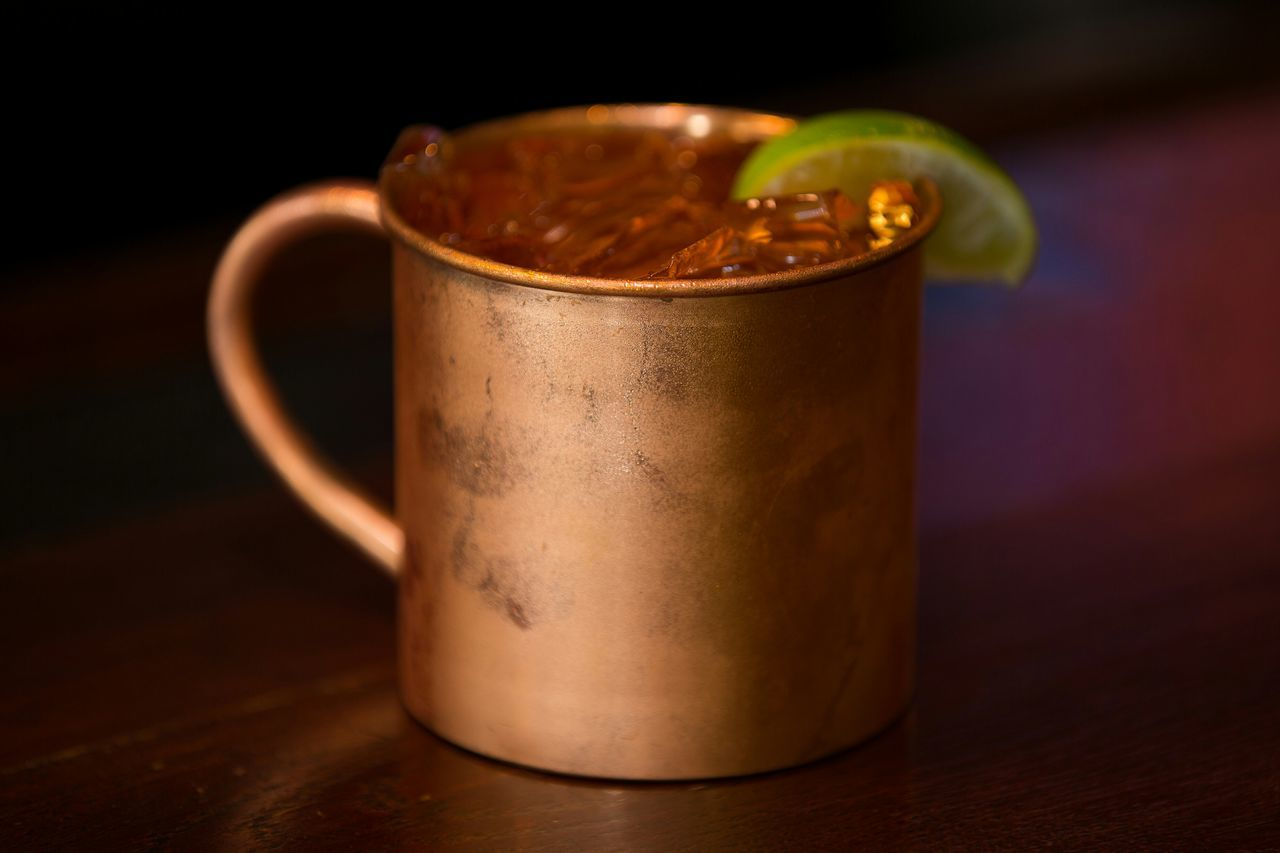 Cocktails Moscow Mule Copper Mug Condensation Refreshingdrink