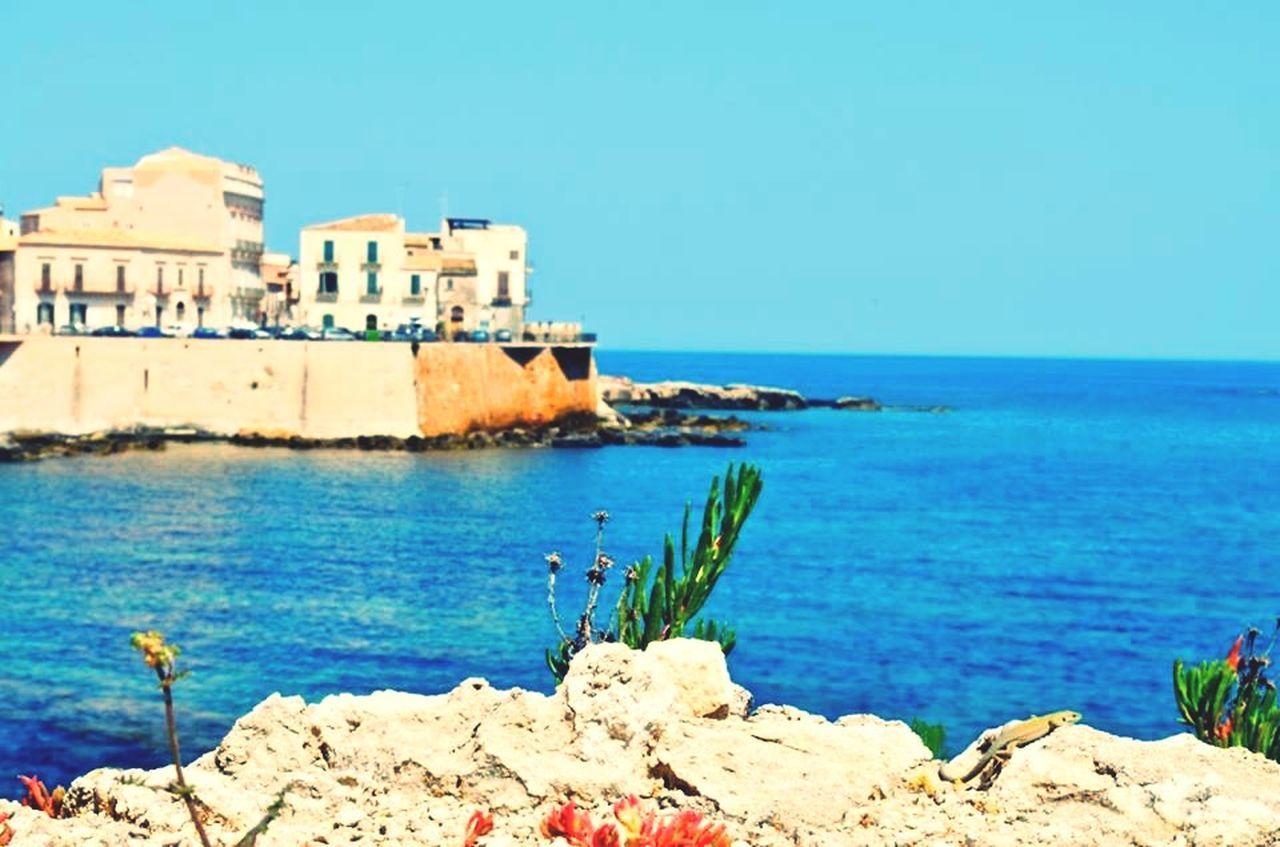 Snapshots Of Life Holydays Sicily Siracusa Mare Sea Sea And Sky