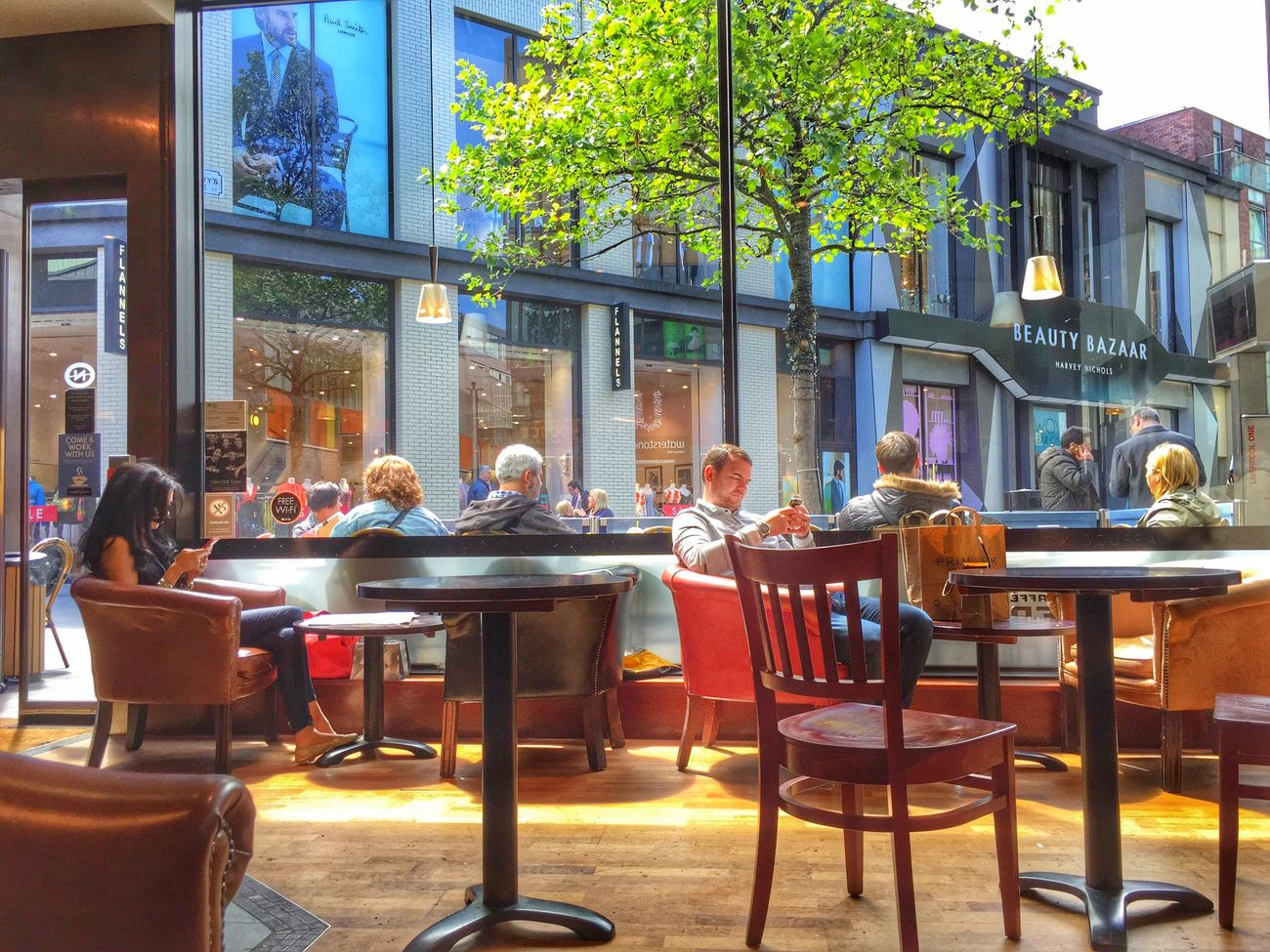 ☕️-time again ☺️ Coffee Streetphotography My Smartphone Life The Places I've Been Today Eye4photography  Enjoying The Sun People HDR Taking Photos People Watching