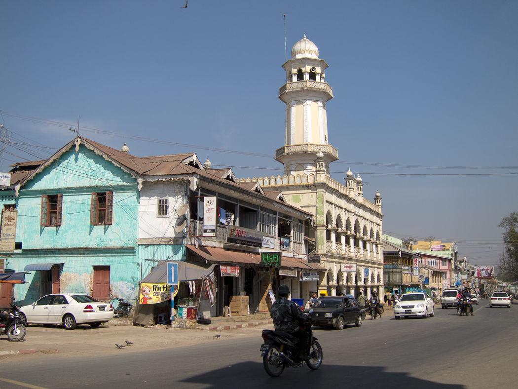 Architecture Birma Burma Clocktower High Street Myanmar Pyin Oo Lwin Pyinoolwin Road
