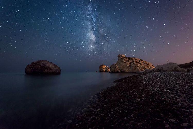 Nightphotography Galaxy milky way