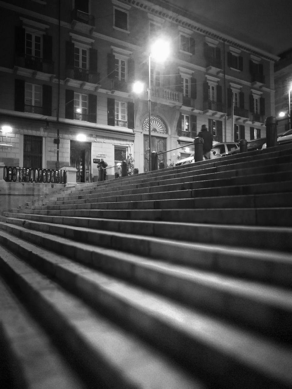 Cagliari Urban City Night