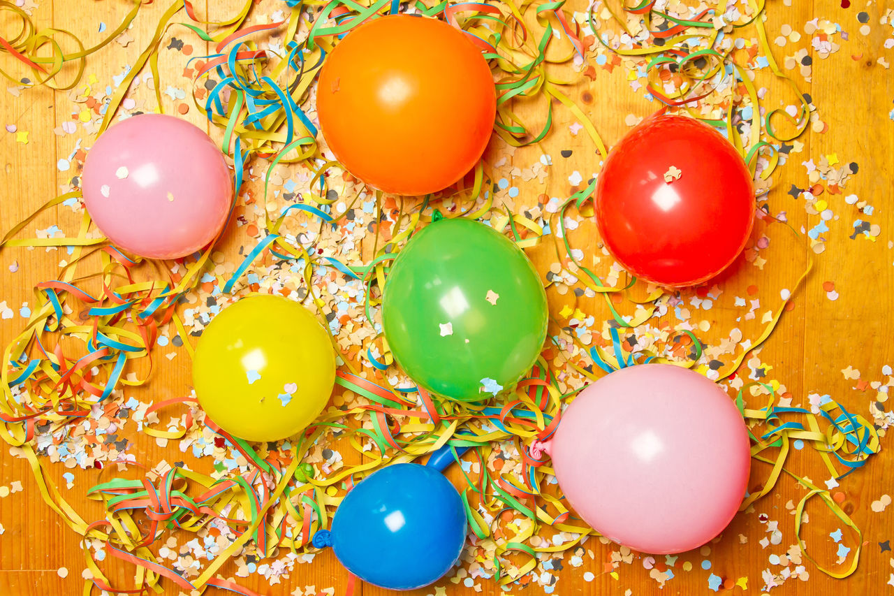 Beautiful stock photos of birthday, multi colored, celebration, indoors, christmas ornament
