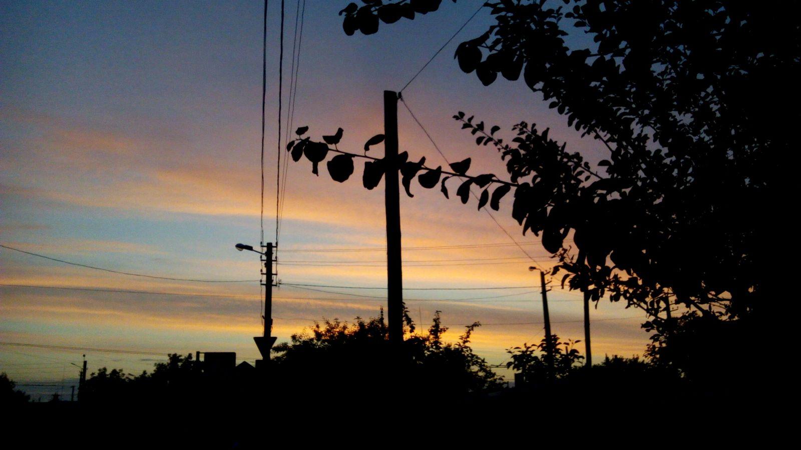 Ukraine Beautiful Sky Sunset Evening Sky Summer2015 Bila Tserkva