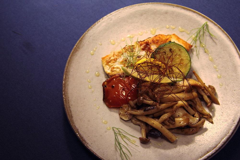 Delicious Fennel Fish Italian Food Leatherjacket Lemon Tasty Tomato