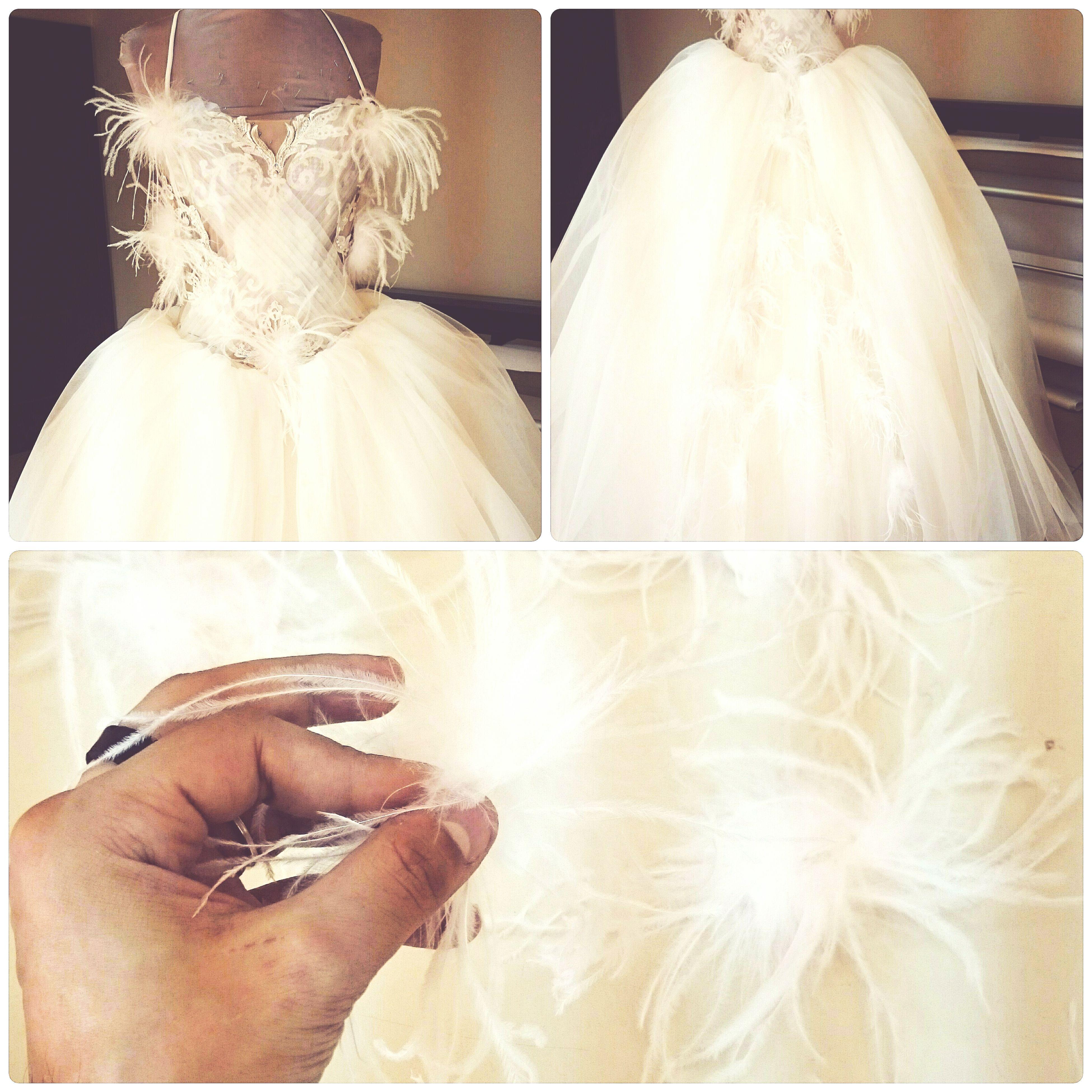 Fashion Designer  Wedding Dress My Work My Design Bridaldress