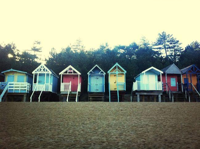 Beach huts...#NFN