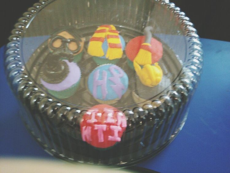 Cupcakes Times Harry Potter ⚡