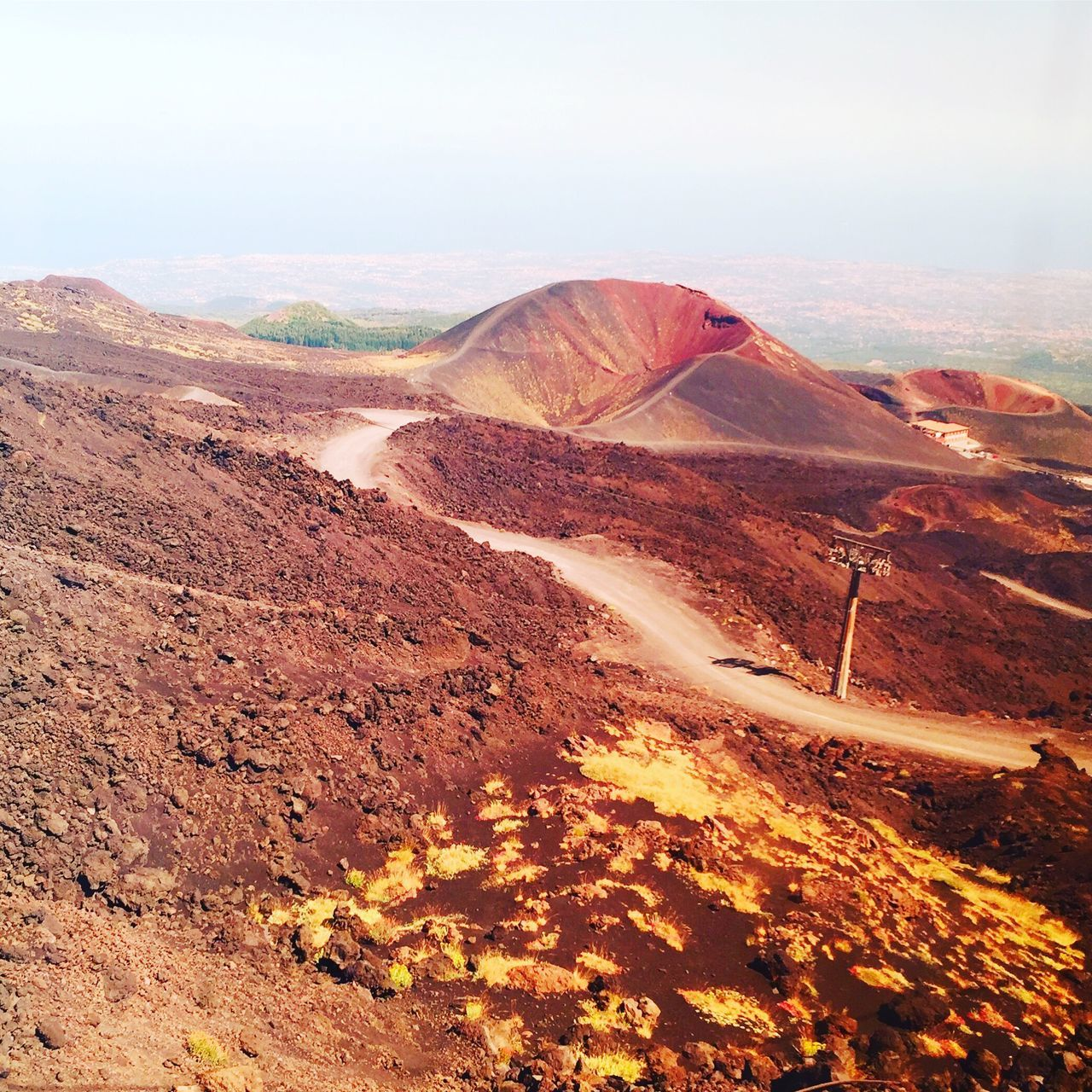 EyeEm Selects Etna volcano Nature Tranquility Tranquil Scene Landscape Geology Scenics Beauty In Nature Outdoors Physical Geography No People Arid Climate Day Travel Destinations Desert Mountain Sky Clear Sky Etna Volcano