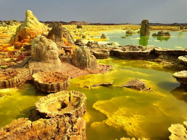 Is there life in this planet? Danakil Depression Ethiopia Rock Formation Nature Beauty In Nature Landscape Scenics EyeEmNewHere