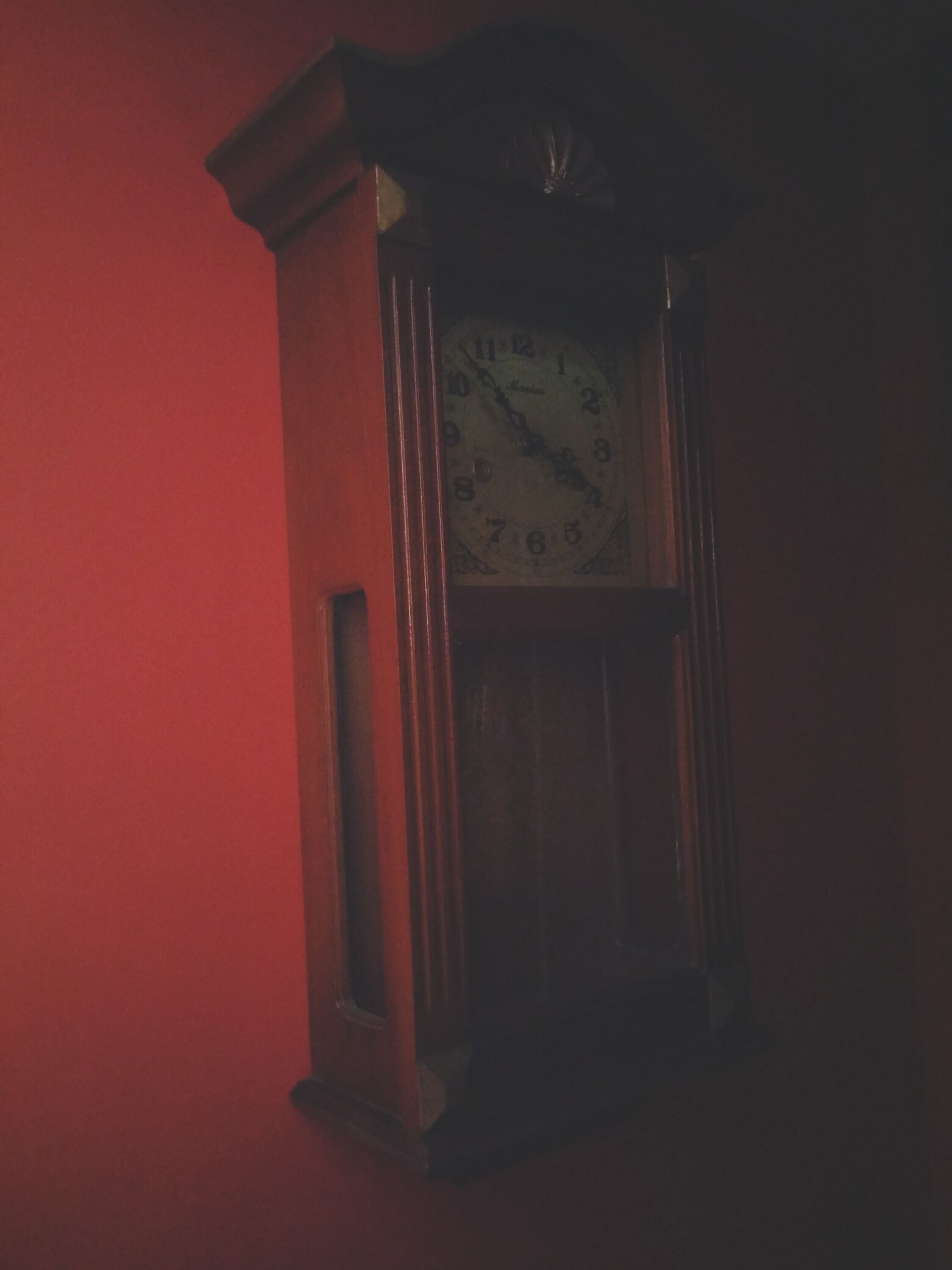 architecture, built structure, indoors, door, red, window, house, closed, building exterior, low angle view, wood - material, no people, illuminated, entrance, wall - building feature, lighting equipment, home interior, open, copy space, wall