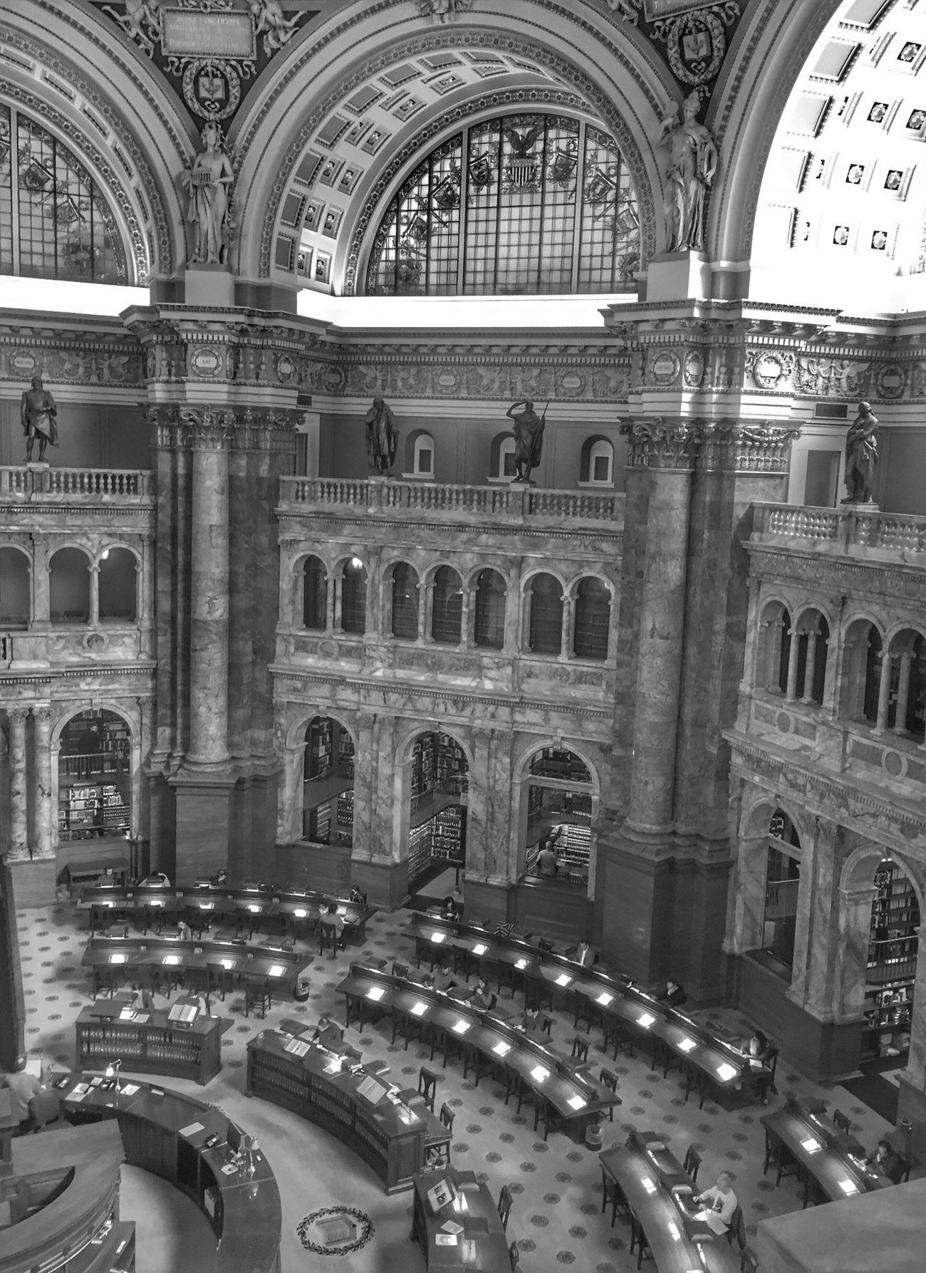 Library Architecture Blackandwhite Bw_collection Bnw EyeEm Best Shots - Black + White Architectural Column