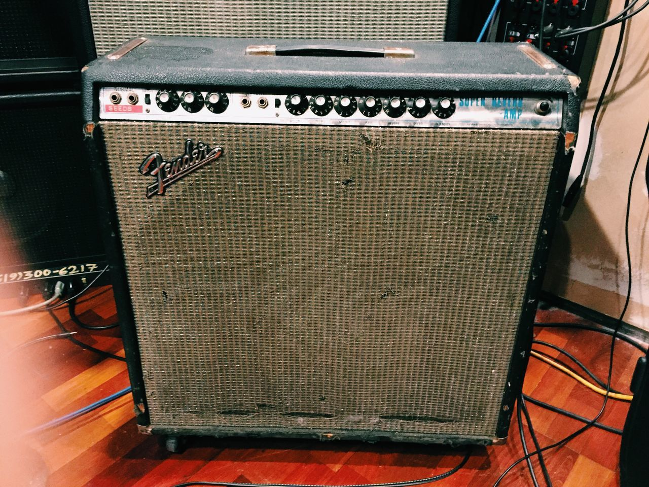 My Winter Favorites my baby... Fender Amplifier The One Vscocam Notes From The Underground
