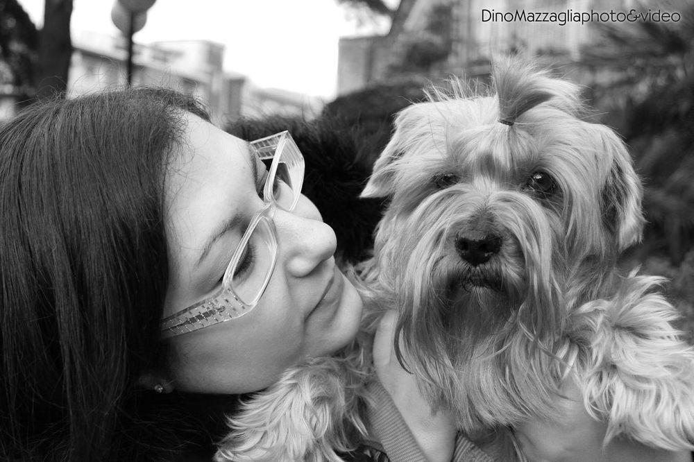 Blackandwhite Puppy Dog I Love My Dog Beautiful Black & White Taking Photos Enjoying Life Photography Animals