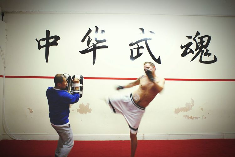 Kickboxer Only Men Adult Adults Only Motion Skill  Activity Men Young Adult Sport Indoors  Kickboxing Kickboxer Sanda Sanshou Ostomy Sport Crohnsdisease ThatsMe STomà Second Acts Love Yourself