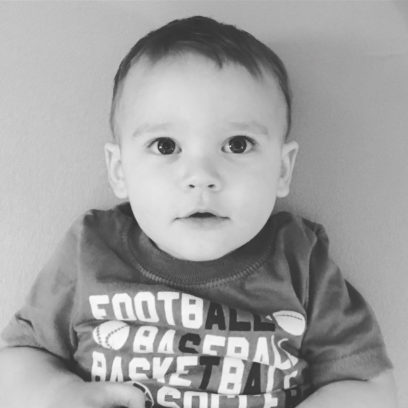 Baby Real People Babyhood Indoors  Portrait One Person Front View Close-up Leisure Activity People Black And White Child Photo Childhood Photography