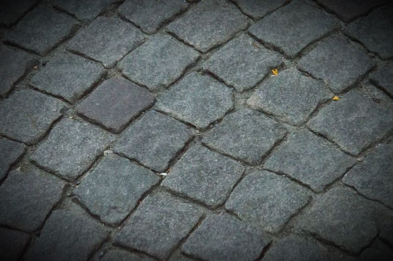 Cobblestones. Backgrounds Full Frame Monochrome No People Outdoors Pattern Street Streetphoto_bw Textured  Welcome To Black