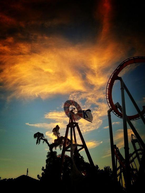 Dramatic Sky Sky Sunset No People Cloud - Sky Night Nature Outdoors Knott's Berry Farm Knottsscaryfarm Knotts Theme Park Themepark Amusement Park Knotts Scary Farm EyeEmNewHere EyeEmNewHere The Secret Spaces