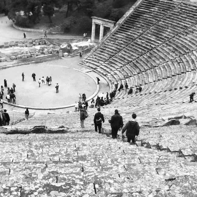 3daystrip Epidauros Ancient Greece Theater Monument Civilization Beproud Lifo Instapic Instamood Ipodpic Instalike