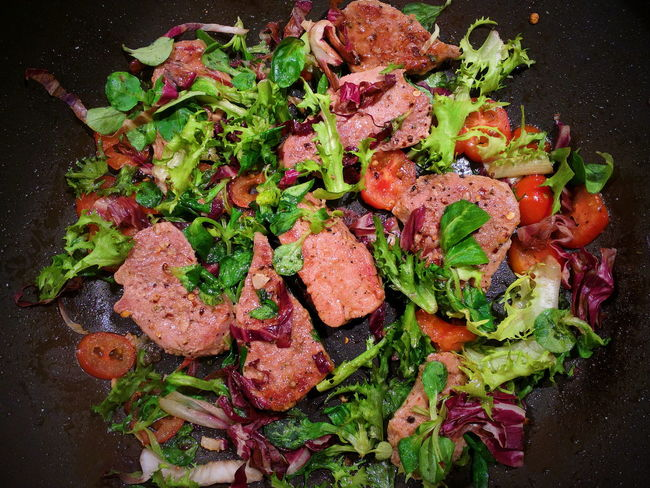 Close-up Food Meal Meat No People Ready-to-eat Salad